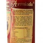 Сок от Арония /без захар, БИО, студено пресован/, естествено богат на флаваноиди 'Арониада', 750 мл