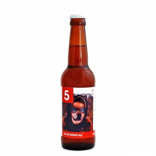 Крафт бира #5 Баба! - светло пиво с Мащерка и Годжи бери 'Ах! Бирена Работилница', 330ml