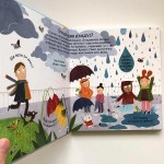 Откъде идва дъждът? - първи въпроси и отговори /енциклопедия с капачета/, издателство 'ФЮТ'