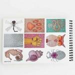 Книга за оцветяване за възрастни 'Нако арт - Отвътре' /арттерапия с 24 илюстрации-мандали от хексагони/