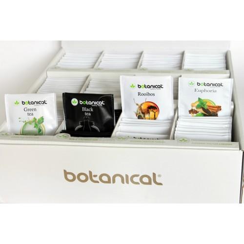 Чаена колекция - картонена кутия със 180 различни чая /12 вкуса х 15 броя/ 'BOTANICAL'