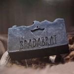 Сапун с активен Въглен, черна кал от Мъртво море и масло от Кипарис за брада и тяло CARBON, BRADABRAT