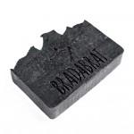 Сапун за брада и тяло CARBON с активен въглен, черна кал от Мъртво море и масло от Кедър 'BRADABRAT', 120 г