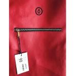 Раница от еко кожа с 4 джоба 'DEKORA' в червен цвят