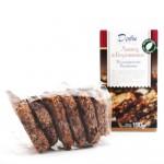Пълнозърнести бисквити с Лимец, Боровинки и Черен шоколад 'ДОБИ', 150g