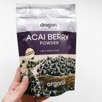 Акай бери /Acai Berry, БИО, на прах/, сушен чрез замразяване 'Dragon Superfoods', 75 г