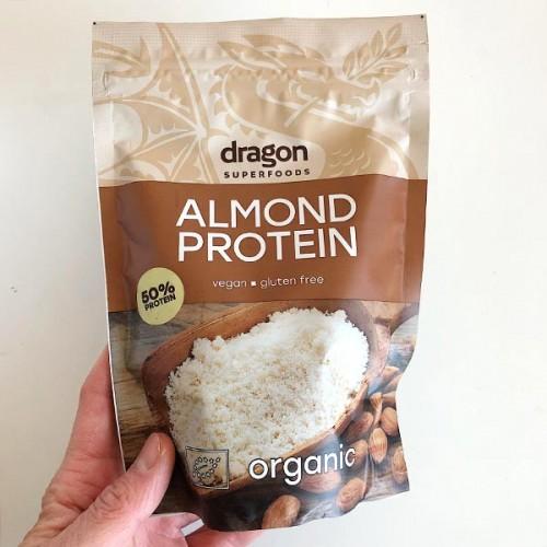 Бадемов протеин на прах /био, суров, веган, без глутен/ 'Dragon Superfoods', 200 г