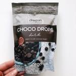 Капки черен шоколад /веган, био, без соя/ 'Dragon Superfoods', 250 г