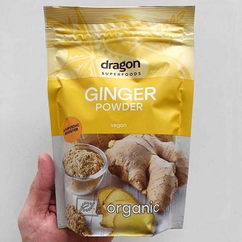 Джинджифил на прах БИО 'Dragon Superfoods', 200 г