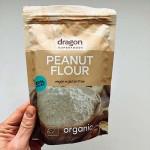 Фъстъчено брашно /без глутен, веган, био/, съдържащо 49% протеин 'Dragon Superfoods', 200г