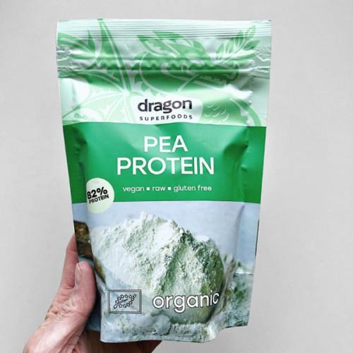 Грахов протеин на прах /био, суров, веган, без глутен/ 'Dragon Superfoods', 200 г