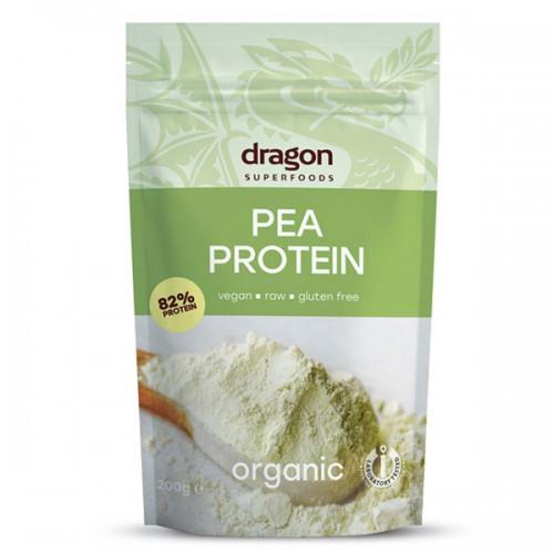 Грахов протеин /БИО, суров/ 'Dragon Superfoods', 200 g