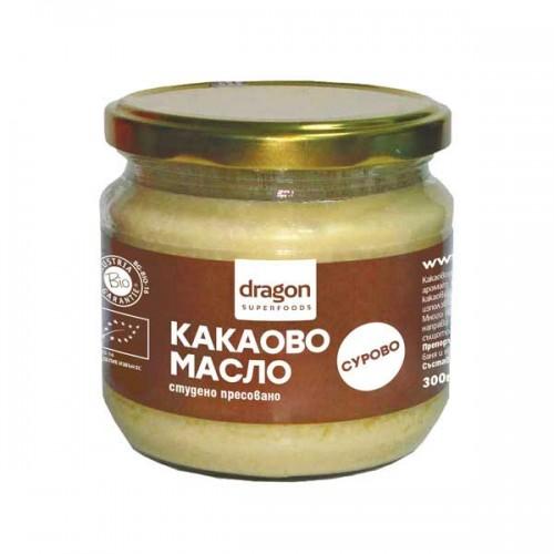 Какаово масло /био, сурово/ 'Dragon Superfoods', 300ml