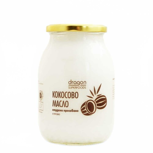 Кокосово масло БИО студено пресовано /нерафинирано/, 1000ml