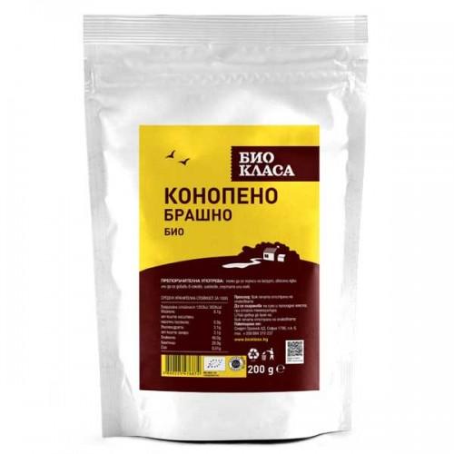 Конопено брашно БИО - за бързо възстановяване, 200 гр.