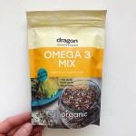 Функционален микс от суперсемена с противовъзпалително действие Omega-3 Mix /веган, без глутен, био/ 'Dragon Superfoods', 200 г