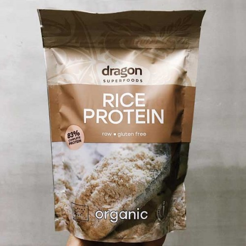 Оризов протеин на прах /био, веган, без глутен/ 'Dragon Superfoods', 200 г