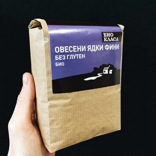 Овесени ядки БЕЗ глутен /фини, БИО/ за Детокс, при Анемия и Диабет, 500 гр.