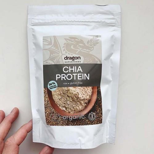 Чиа протеин на прах /био, суров/ 'Dragon Superfoods', 200 г