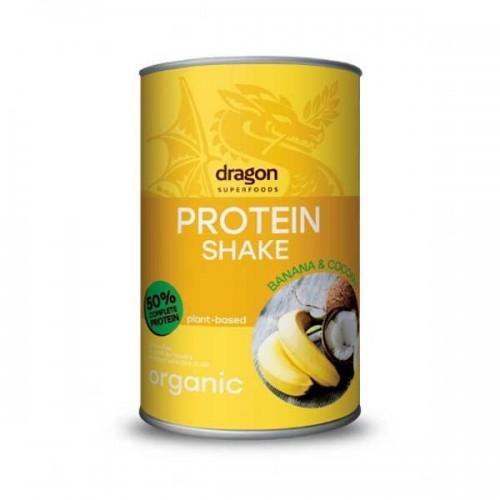 Протеинов шейк Банан и Кокос /веган, без глутен/ БИО, 450гр.