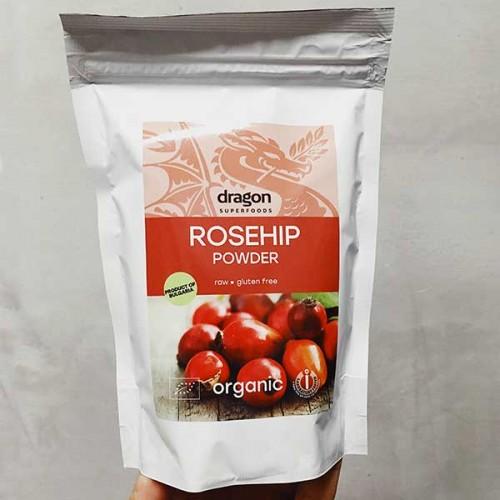 Шипки на прах /Rosa canina/ - източник на витамини, пектин и антиоксиданти 'Dragon Superfoods', 250 г