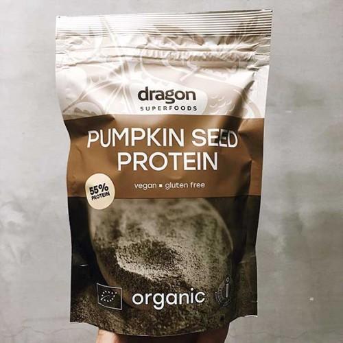 Тиквен протеин на прах /био, веган, без глутен/ 'Dragon Superfoods', 200 г
