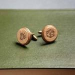 Дървени бутонели с гравюра 'Джакпот', изцяло ръчна изработка, ДървАрт