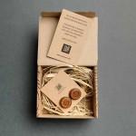 Дървени бутонели с гравюра 'Дилов', изцяло ръчна изработка, ДървАрт