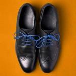Връзки за обувки /сини/ - комплект от 2 броя в стъклена ампула с тапа, ДървАрт