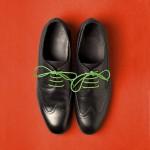 Връзки за обувки /светлозелени/ - комплект от 2 броя в стъклена ампула с тапа, ДървАрт