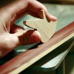 Магнитна играчка - Слон, изработена изцяло на ръка от масивна дървесина 'ESNAF' by Archabits