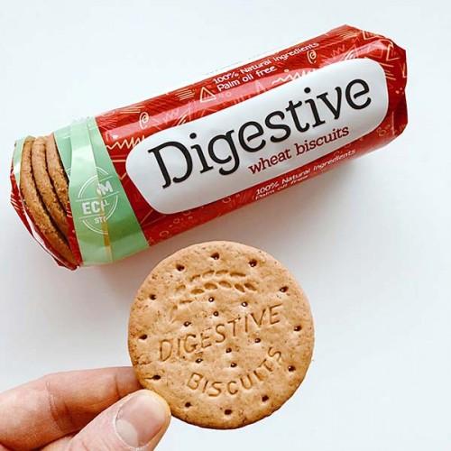 Бисквити DIGESTIVE с 13% пълнозърнеста пшеница /без палмово масло/ 'EcoSem', 300г
