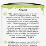 Amarna на Ecomaat - органично масло за бременни и майки с CO2 екстракт от Червена хвойна и етерично масло от Мандарина и Грейпфрут