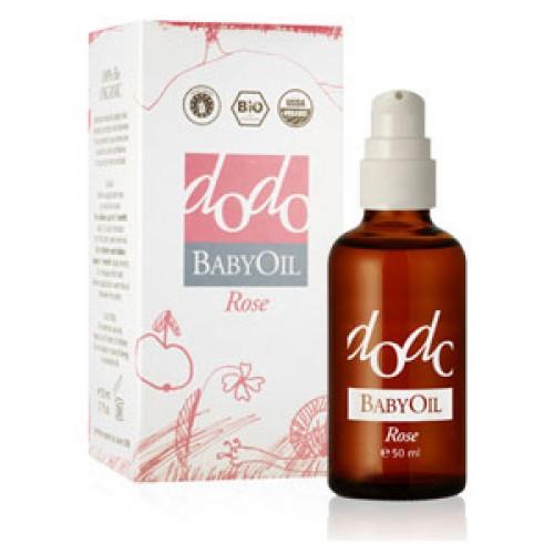 Бебешко био олио от масла и CO2 екстракти на Роза Дамасцена, Жожоба и Шипка 'dodo Baby Oil', Ecomaat