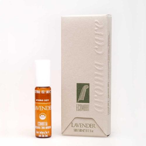 Арома рол-он от био масла и екстракт от Лавандула и Хвойна, 5ml
