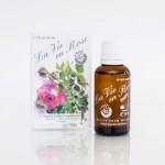 Био розова вода за пиене /на капки/ с СО2 екстракт и етерично масло от Роза Дамасцена 'Живот с рози', Ecomaat