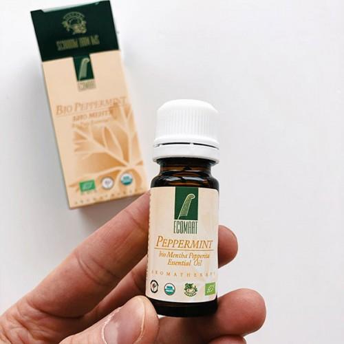 Био етерично масло от 100% Мента /Mentha Piperita/ 'Еcomaat', 10 мл