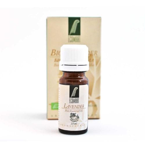 Био етерично масло от българска Лавандула при уморени мускули и нервна система 'Ecomaat', 10ml