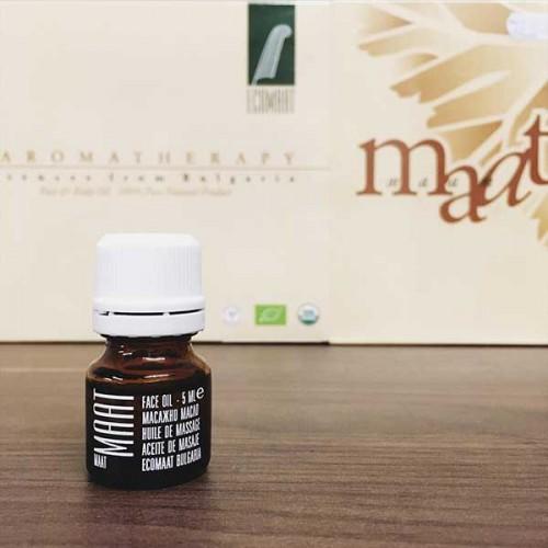 Околоочна био композиция за нормална кожа 'MAAT' с Розово масло, CO2 екстракт от Лавандула и Пшеничен зародиш, Ecomaat