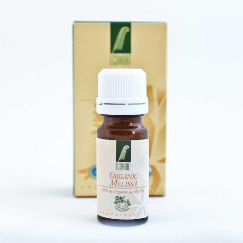 Био етерично масло от българска Маточина 10% в масло от жожоба 'Ecomaat', 10ml