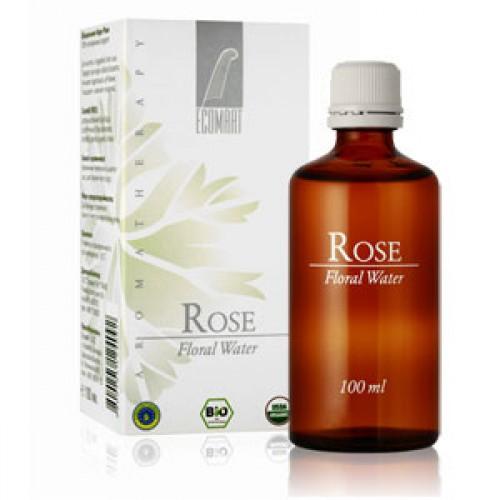 Био флорална вода за почистване от Роза Дамасцена с избелващо действие 'Ecomaat', 100 ml