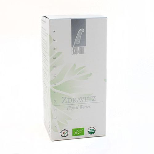 Био флорална вода от Здравец за Смесена и Мазна кожа /избелва и почиства/ 'Ecomaat', 100 ml