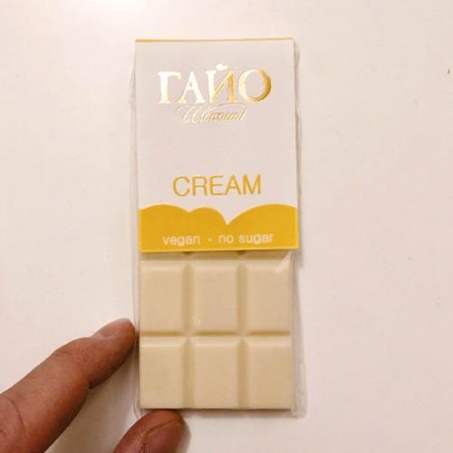 Бял /веган/ шоколад с тонка без добавена захар 'ГАЙО', 40 г