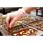 Млечен шоколад с карамелизирани бадеми /нуга/ 'CHANSON' с 60% какаово съдържание, ГАЙО