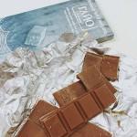 Млечен шоколад с фини кристали черноморска сол от Атанасовско езеро 'ГАЙО', 80 г