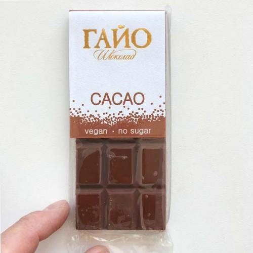 Млечен веган шоколад без захар 'ГАЙО', 40 г