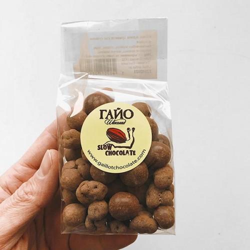 Шоколадови бонбони с лешник, тиква и бели черници 'ГАЙО', 100 г