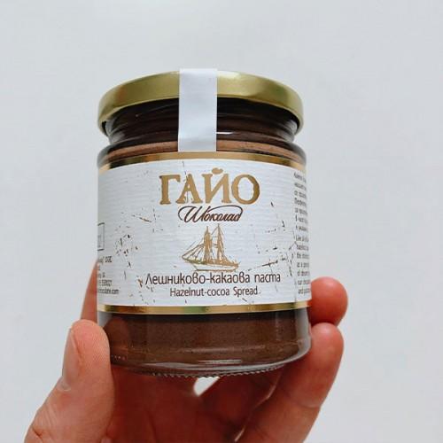 Течен млечен шоколад /какаово-лешникова паста/ от само 4 съставки ГАЙО, 200 г