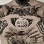 Крем за след татуиране с масла от Пшеничен зародиш, Лавандула и Хиалуронова киселина GOODINK 'deche', 30g