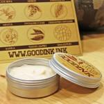 Крем за след татуиране с масла от Пшеничен зародиш, Лавандула и Хиалуронова киселина GOODINK 'deche', 60g
